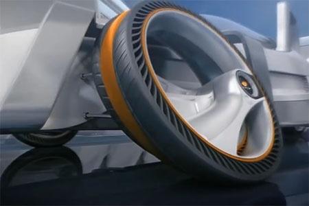 Športová pneumatika budúcnosti Tiltread