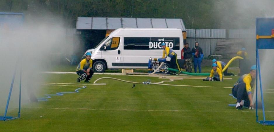 Prakticé stránky Fiatu Ducato sme preverovali počas hasičského útoku