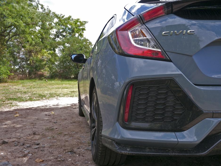 Honda civic zadny prieduch