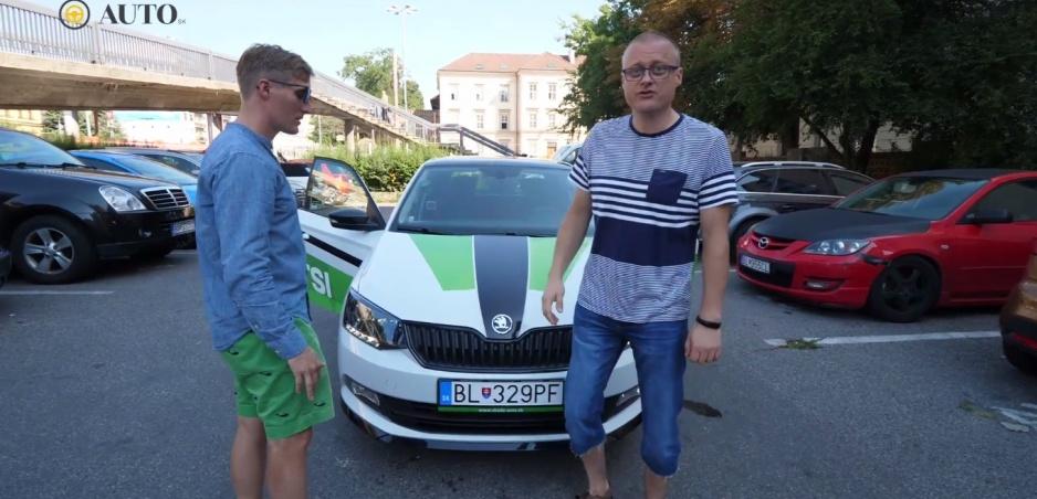 FUN TEST: Sajfa s Truhlíkom preverili nový motor Fabie na okruhu