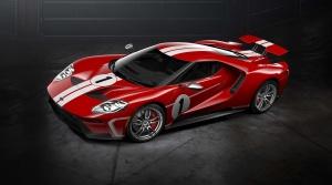 Ford GT 67 Heritage edition vzdáva hold víťaznému autu z Le Mans