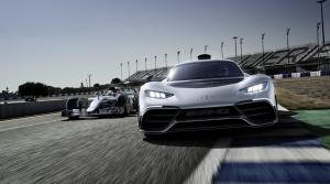 Mercedes Project One je skutočnou Formulou 1 na ceste