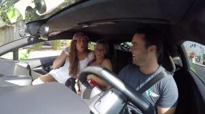 Americký youtuber sa zahral na Uber. V Lamborghini!