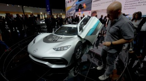 Autosalón Frankfurt: Mercedes AMG Project One je našou hviezdou autosalónu