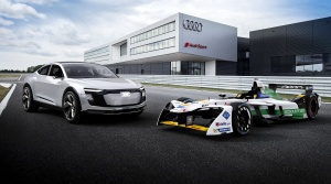 Audi predstavilo svoj nový elektrický monopost e-tron FE04