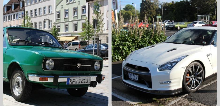 Škoda 120 vs. Nissan GTR: Naozaj pozoruhodný pretek