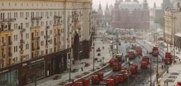 Ako sa majú stavať cesty: V Rusku poslali do práce desiatky strojov naraz