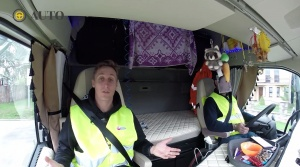 FUN TEST: Sajfa s Truhlíkom zisťovali, ako sa žije v kamióne