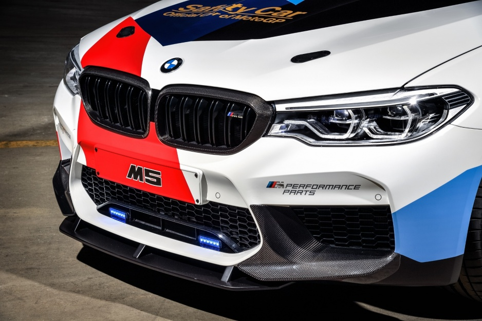 BMW M5 splitter