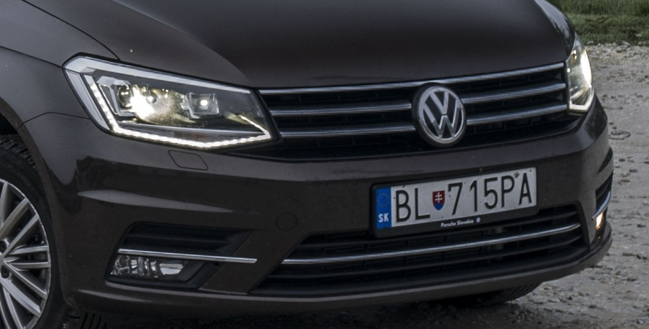 Predná maska Caddy VW
