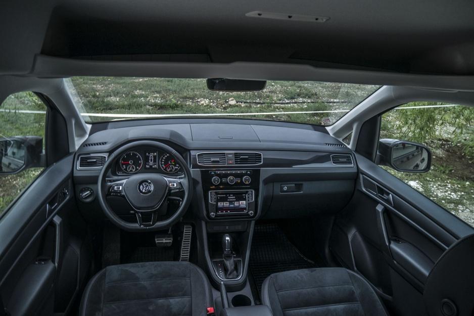 Volkswagen Caddy interiér