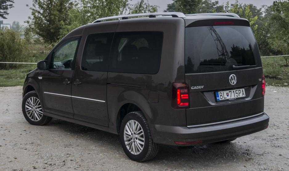 Volkswagen Caddy zadok