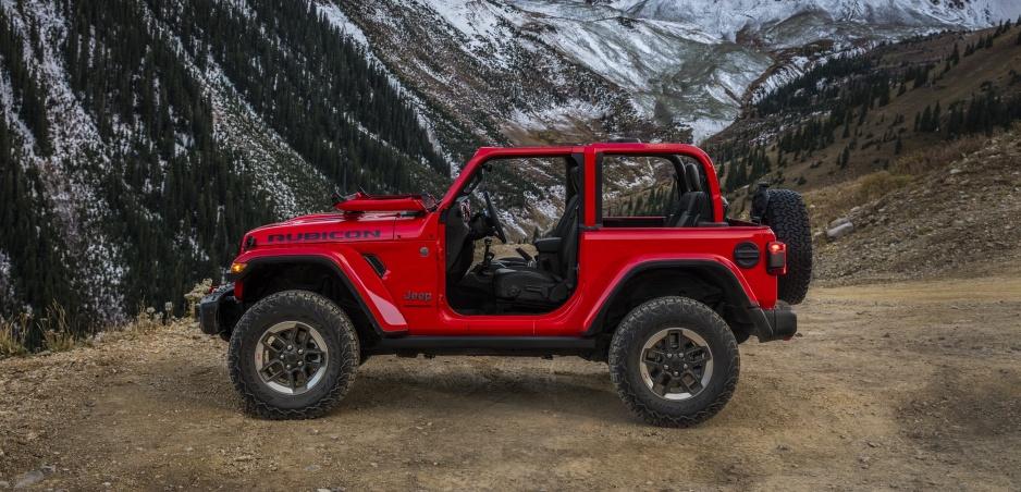 Jeep predviedol interiér nového Wrangleru