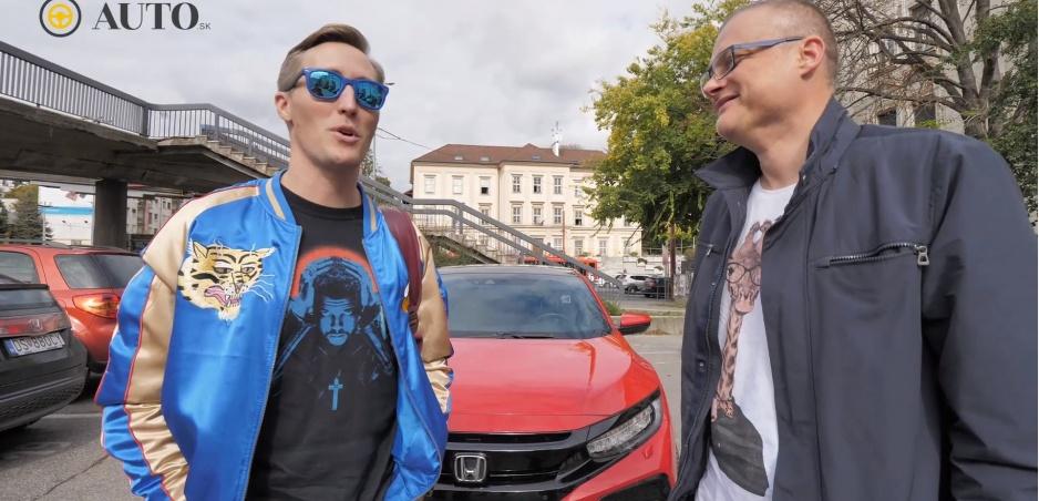 FUN TEST: Sajfa sa vrátil do svojej mladosti a opäť sadol za volant Hondy Civic
