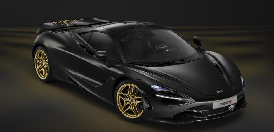 Jedinečná verzia McLarenu 720S kombinuje zlato a uhlíkové vlákna