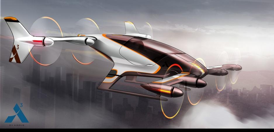 """Lietajúci """"elektromobil"""" od Airbusu: Prvé jazdy už tento rok"""