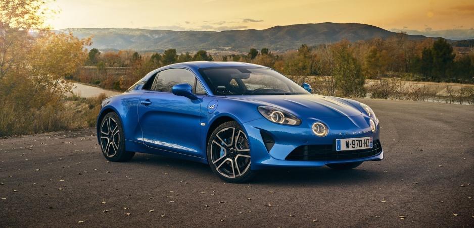 Alpine A110 Premiére Edition sa predvádza na nových fotkách