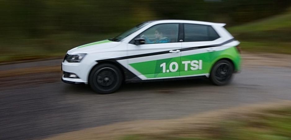 Škoda Fabia 1,0 TSI: Litrový motor sme preverili s naloženým autom a v kopci