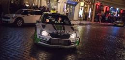 Škoda Fabia R5 s Janom Kopeckým. Tento rýchly taxík prekvapil Pražákov