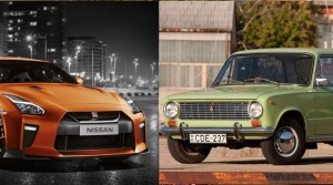 Pozrite si súboj Nissanu GT-R a staručkej Lady