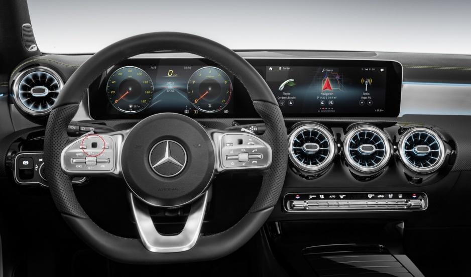 Mercedes volant