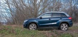 Test Suzuki Vitara: Sneh, blato a mesto