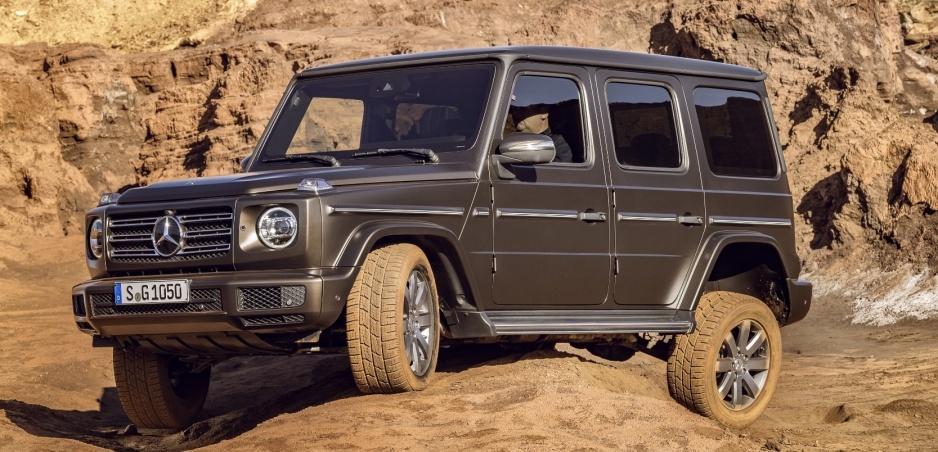 Pozrite si nový Mercedes G vo veľkej galérii