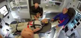 Takto vyzerá crash test sanitky