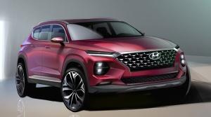 Nový Hyundai Santa Fe dostane vzhľad modelu Kona