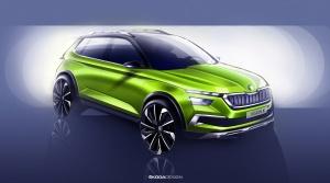 Koncept Škoda Vision X je predchodca malého mestského crossoveru