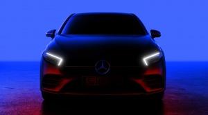 Záznam premiéry Mercedesu triedy A