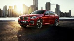 BMW odhalilo druhú generáciu SUV X4
