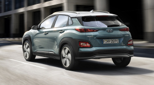 Elektrický Hyundai Kona zvládne na jedno nabitie 470 km