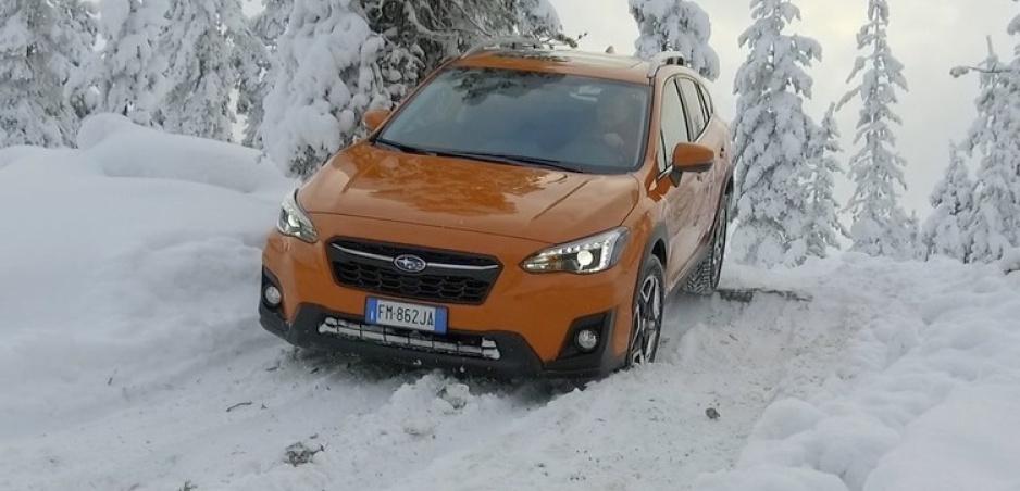 Modely Subaru sme testovali za polárnym kruhom