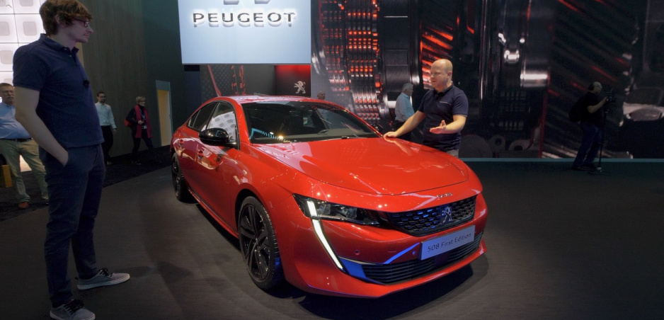 Autosalón Ženeva: Krásny Peugeot 508 a praktický model Rifter
