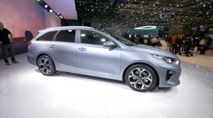 Autosalón Ženeva: Kia priniesla nový CEED kombi a modernizovanú Optimu
