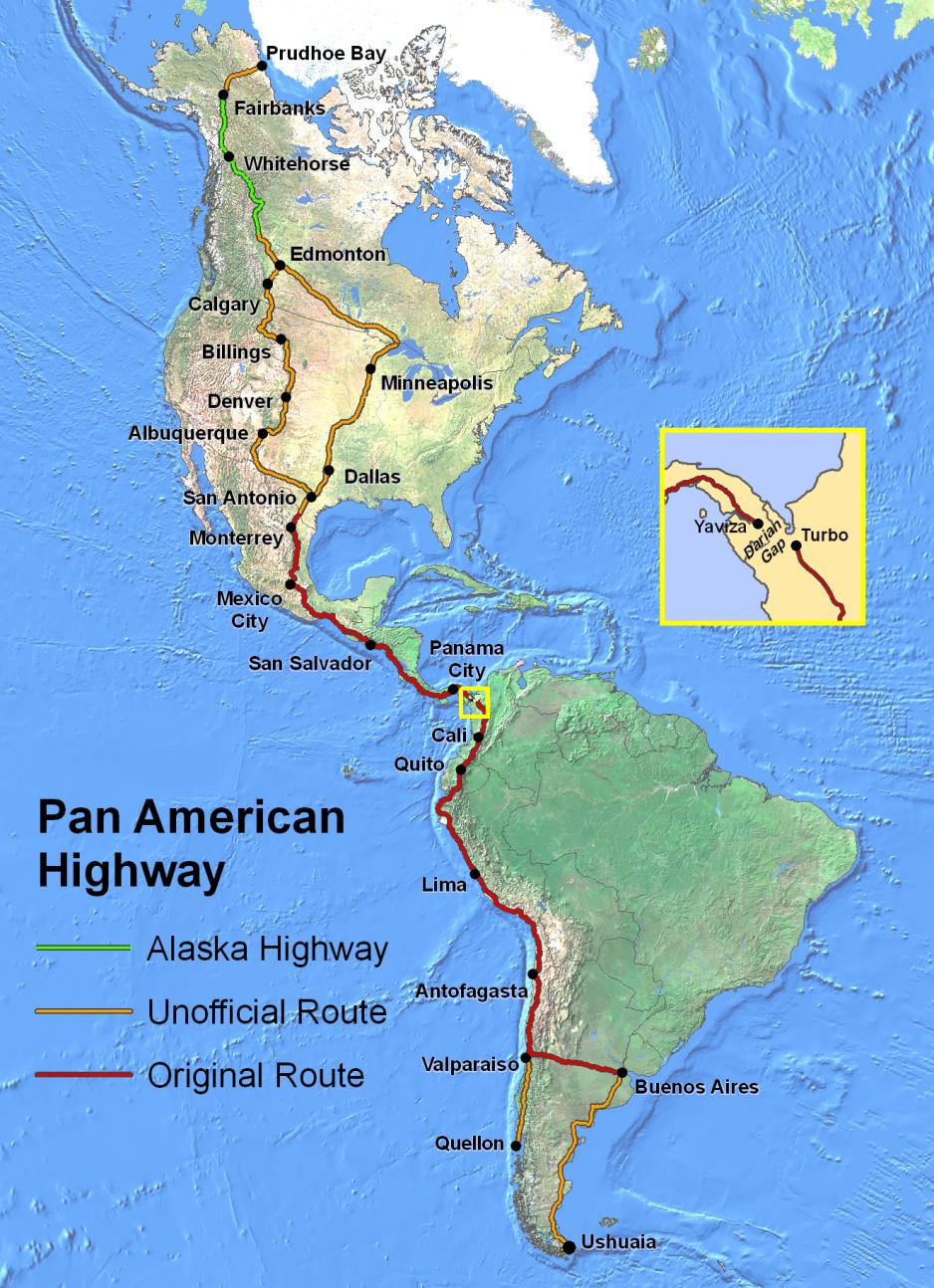 Panamerická magistrála