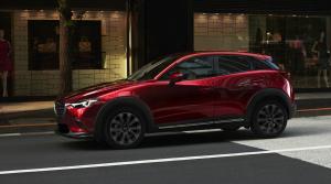 Mazda modernizovala model CX-3, zmenami neohúrila