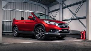 1. apríl: Honda uvádza na trh SUV CR-V bez strechy