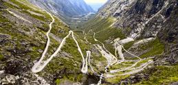 Najfascinujúcejšie cesty sveta 17: Trollstigen