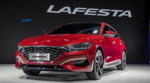 Hyundai Lafesta ukazuje nový dizajn značky