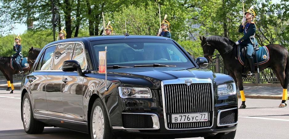 Putinova nová limuzína: Ukázal ju v deň inaugurácie