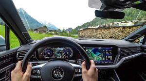 Nový Touareg z prvého pohľadu: Pozrite si video jazdy v horách