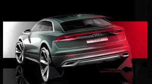Audi ukázalo skicu nového SUV Q8, predstaví ho postupne v piatich filmoch