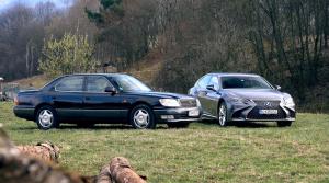 Test: Pozrite, ako sa za 20 rokov zmenil Lexus LS