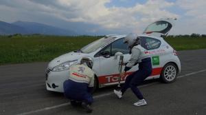 Pred Rallye Tatry sme trénovali výmenu kolesa na čas