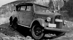 Škoda vyrábala v minulosti pre armádu aj vozidlo 6x4 s technikou Superba