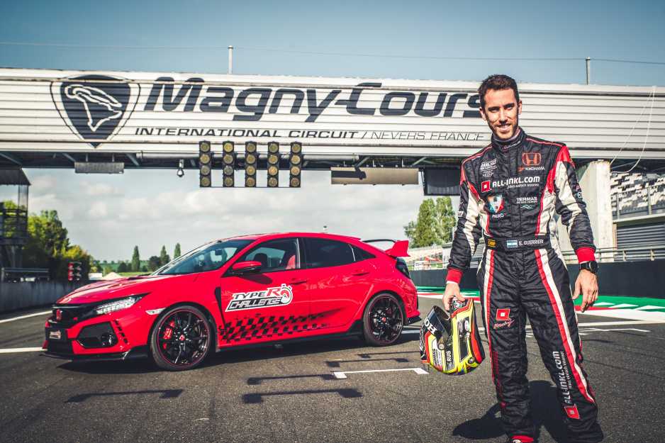 Honda Civic Type R a Esteban Guerrieru