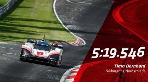 Pozrite si video z nového rekordu na Nürburgringu. Porsche 919 Hybrid preletelo Zeleným peklom