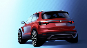 Volkswagen ukázal skicu nového crossoveru T-Cross